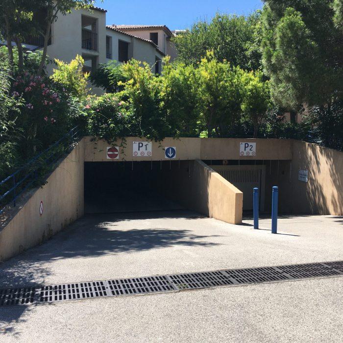 Les parkings des Rivages avec places privatives